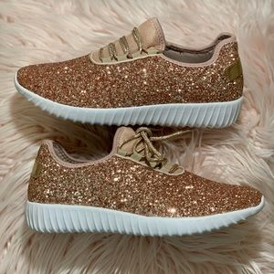 2d31ed43bb7a Women's Rose Gold Sneakers
